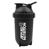 Bình đựng nước bằng nhựa 400ml có bóng lắc đánh tan 100% whey protein, rule 1 protein
