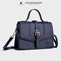 Túi đeo chéo nữ YUUMY YN85, 4 ngăn, vừa điện thoại IPHONE 11, túi có quai xách, phù hợp đi chơi, đi làm, đi tiệc, da tổng hợp cao cấp , không bong tróc, không thấm nước (Dài 24cm+Rộng 8 cm+Cao 17cm)