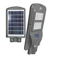 Đèn led đường phố năng lượng mặt trời có cảm biến