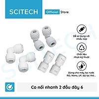 Co nối nhanh 2 đầu dây dùng trong máy lọc nước - Hàng chính hãng