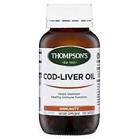 Thompson's Cod Liver Oil 100 Capsules