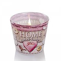 Ly nến thơm Bartek Candles BAT4820 Home Sweet Home 115g (Hương cam rừng)