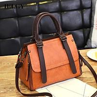 IELGY Women's bag Korean style Crossbody versatile solid color portable fashionable simple personalized single shoulder
