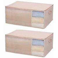 Bộ 2 Túi đựng đồ dùng phòng ngủ size to - Hàng Nội Địa Nhật