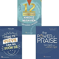 Sách: Combo Kỹ Năng Lãnh Đạo - Môi Trường Làm Việc Tích Cực (công ty vui vẻ làm ăn suôn sẻ+ sức mạnh của sự khen ngợi+ 12 phương pháp khích lệ nhân viên )