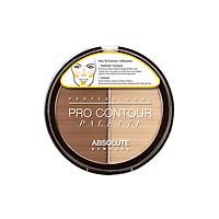 Bảng Tạo Khối Absolute NewYork Pro Contour Palette APC01 - Light (8g)