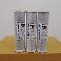 Combo 3 lõi lọc số 3 CTO máy lọc nước ro - Hàng chính hãng