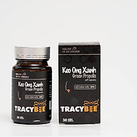 Thực phẩm chức năng Keo ong xanh Brazil dạng viên hỗ trợ trợ trị viêm họng, ho, cảm sốt người lớn và trẻ em