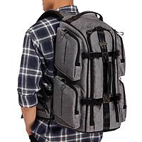 Balo Máy Ảnh Camera Bags Designer Back Pack (L) - Hàng Chính Hãng
