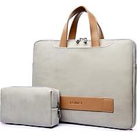 Túi sách công sở nữ cao cấp J.QMEI J004 túi đựng laptop, túi đựng macbook chống sốc chống nước