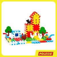 Bộ Đồ Chơi Lắp Ghép Trang Trại 112 Chi Tiết, Đồ Chơi Giáo Dục, An Toàn, Phát Triển Tư Duy, Sáng Tạo Cho Bé - Polesie Toys 4864