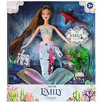 Búp Bê Emily - Người Mẫu Thời Trang DK81031 - Màu Ngẫu Nhiên