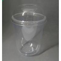 Cốc nhựa, cố trà sữa đáy bầu 700ml 500ml 360ml (50 cốc)
