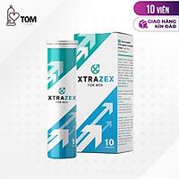 Viên sủi hỗ trợ cương dương, tăng cường sinh lý Xtrazex - Hộp 10 viên