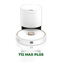 Robot Hút Bụi Lau Nhà Cao Cấp T12 Max Plus - Công Nghệ Hút Bụi 3 Cấp Độ, Cảm Biến Thông Minh và Tự Xử Lý Rác Độc Quyền – Hàng Chính Hãng
