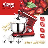 Máy trộn bột, nhào bột, đánh trứng cao cấp DSP KM3043 có 6 mức độ Công suất: 1200W, Dung tích: 5 lít - HÀNG CHÍNH HÃNG