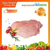 [Chỉ giao HN] - Nạc đùi Heo cắt Đông lạnh NKP (1kg) - được bán bởi TikiNGON - Giao nhanh 3H