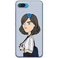 Ốp lưng dành cho Xiaomi Mi 8 Lite mẫu Em chụp ảnh