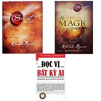 combo 3 cuốn Bí mật - The secret + Phép màu magic + Đọc vị bất kỳ ai