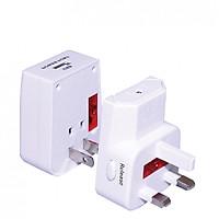 Ổ cắm du lịch Điện Quang ĐQ ESK TV05W 1U (Màu trắng- 1 cổng USB)