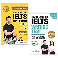 Sách - Bộ Sách How To Crack The Ielts Speaking + Writing Test - Vol1 (Bộ 2 Cuốn)