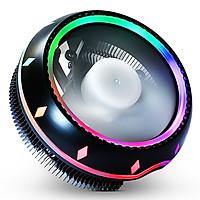 Quạt Tản Nhiệt CPU ECC01 LED RGB - Hỗ trợ Socket Intel/AMD