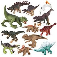 Mô hình đồ chơi khủng long kỉ Jurassic World Dinosaurs cho bé (Bộ 12 khủng long)
