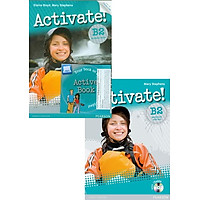 Activate! B2 Pack 4 New Editon (Student Book w/ActiveBook + Workbook (w/key) w/CD-ROM)