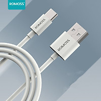 ROMOSS CB308type-c data cable fast charging is suitable for Huawei Mate30/20/P40/Honor 20/Xiaomi 10/9/Samsung mobile phone charging cable Android USB-C adapter 1m