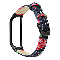 〖Follure〗Leather Watch Replacement Strap For Samsung Galaxy fit-e R375+ Metal Frame