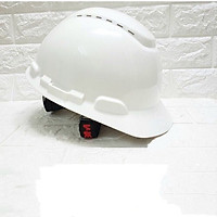 Mũ bảo hộ 3M H701V nón bảo hộ lao động cao cấp nhựa ABS siêu cứng, lồng nón điều chỉnh được độ cao chính hãng 3M