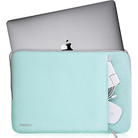"""Túi Chống Sốc Tomtoc A13 (Usa) 360° Protective Surface, Laptop, Macbook Pro 13"""" Light Blue"""