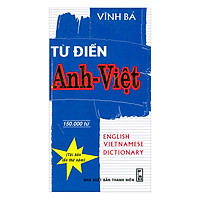 Từ Điển Anh Việt (150.000 Từ)