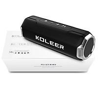 Loa bluetooth KOLEER S218 công suất 10W bass cực mạnh siêu hay - hỗ trợ thẻ nhớ/USB/AUX/FM (màu ngẫu nhiên) Hàng Nhập Khẩu