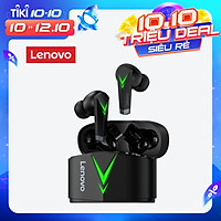 Lenovo LP6 TWS Earbuds Bluetooth 5.0 True Wireless Headphones Low Latency Gaming Headphone Touch Control Sport Game