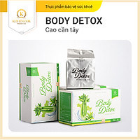 Cốm cần tay kiểm soát cân nặng Body Detox (36 gói)