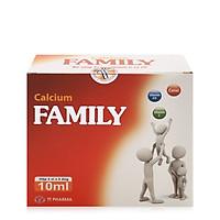 Calcium Family giúp bổ sung canxi cho trẻ và người thiếu canxi