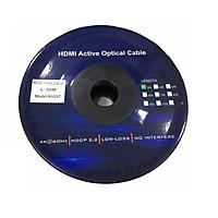CÁP HDMI Kingmaster 2.0 ( 30m) Active Optical KH 257,CÁP HDMI CÁP QUANG CHUẨN 2.0-HÀNG CHÍNH HÃNG