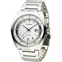 Đồng hồ đeo tay nam thời trang phong cách kỳ hạm CITIZEN Eco-Drive - Màu trắng(AW1010-57B)