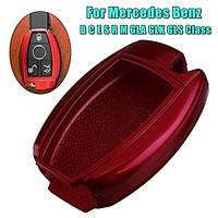 Remote Key Cover Fob Case Shell For Mercedes B C E S R M GLA GLK GLS Class (Black)