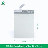 MT0A - 23x17 cm - 100 túi nilon 2 lớp đóng hàng thay thùng hộp carton