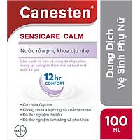 Dung dịch vệ sinh phụ nữ CANESTEN SENSICARE CALM (100ml)