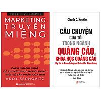 Combo Sách Marketing - Bán Hàng : Word Of Mouth Marketing - Marketing Truyền Miệng + Câu Chuyện Của Tôi Trong Ngành Quảng Cáo Và Khoa Học Quảng Cáo