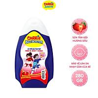 Sữa Tắm Gội Sạch Khuẩn Carrie Junior BacBuster Hương Strawberry 280G
