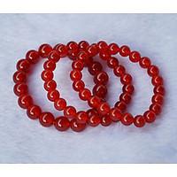 Vòng tay phong thủy nam nữ - Vòng đá mã não đỏ - Vòng phong thủy cho người mệnh hỏa thổ