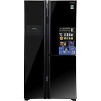 Tủ Lạnh Side By Side Inverter Hitachi R-M700PGV2-GBK (600L) - Đen - Hàng chính hãng