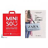 Bộ sách về 2 thương hiệu bán lẻ nổi tiếng:Miniso - Cuộc Cách Mạng Bán Lẻ Toàn Cầu và Từ Zero Đến Zara ( Tặng kèm bookmark PD đặc biệt )