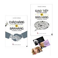 Combo Chào Hàng Chuyên Nghiệp + Giao Tiếp Chuyên Nghiệp Để Bán Hàng Thành Công Tặng Kèm Postcard Những Câu Nói Của Người Nổi tiếng