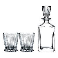 Bộ 2 Ly Và 1 Bình Pha Lê  Whisky Set Fire 5515/02S1 (Tumbler + Decanter)