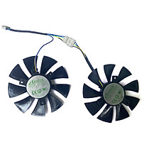 2PCS 85MM GA91S2H DC 12V 0.35A 4PIN Quạt làm mát thay thế cho OTAC GeForce GTX 1060 AMP Edition GTX 1070 Mini Fan Card đồ họa
